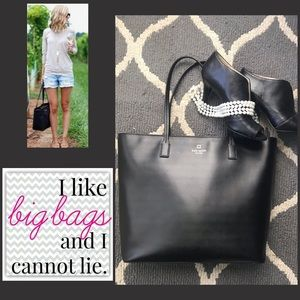 Kate Spade ♠️ the Perfect Black Tote